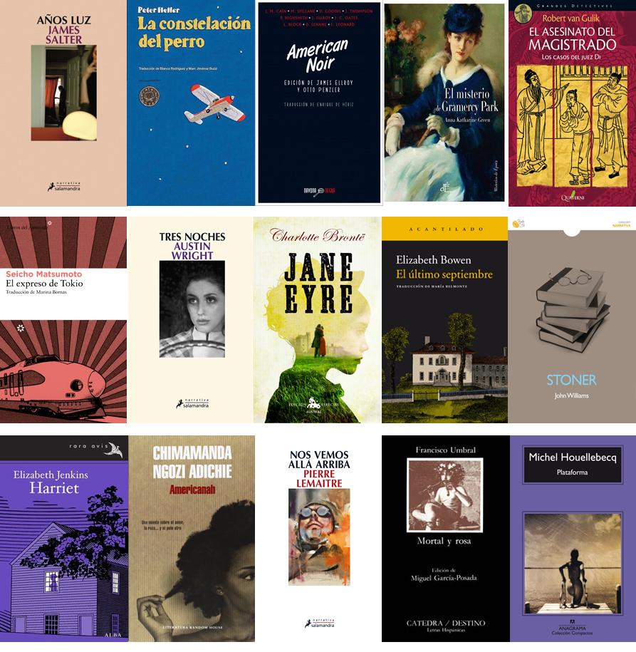 Reto 15 Libros en mi estantería