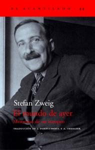 El mundo de ayer de Stefan Zweig
