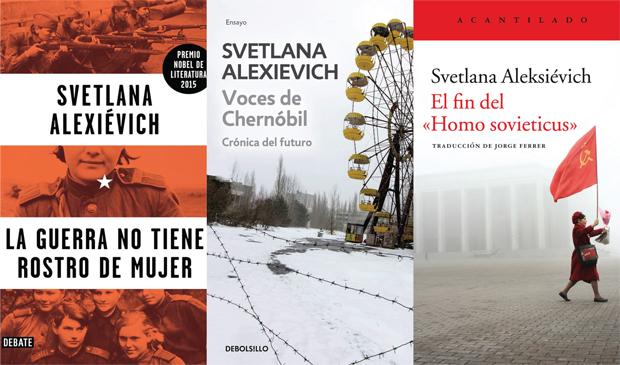 """""""Esto no se puede inventar. Leer a Svetlana Alexievich"""". Casa del Lector (Madrid)."""